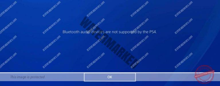 bluetooth audio devices are not supported by the ps4